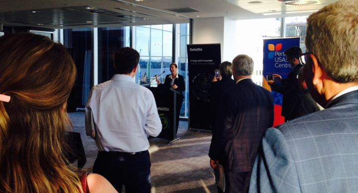 The Launch of Western Australia's Energy Maps Publication