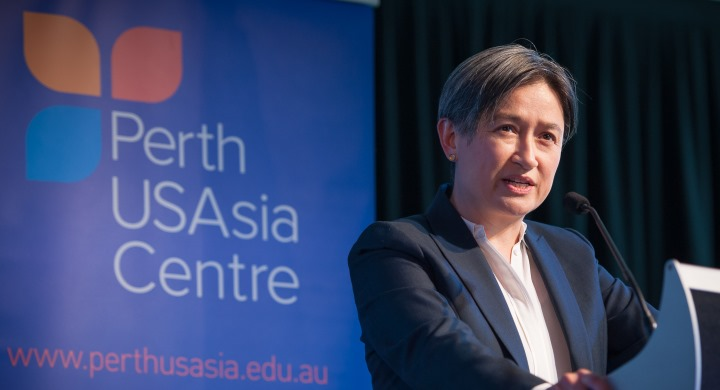 Senator the Hon. Penny Wong, Australia's Shadow Foreign Minister
