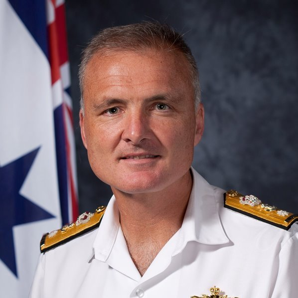 Rear Admiral Lee Goddard -