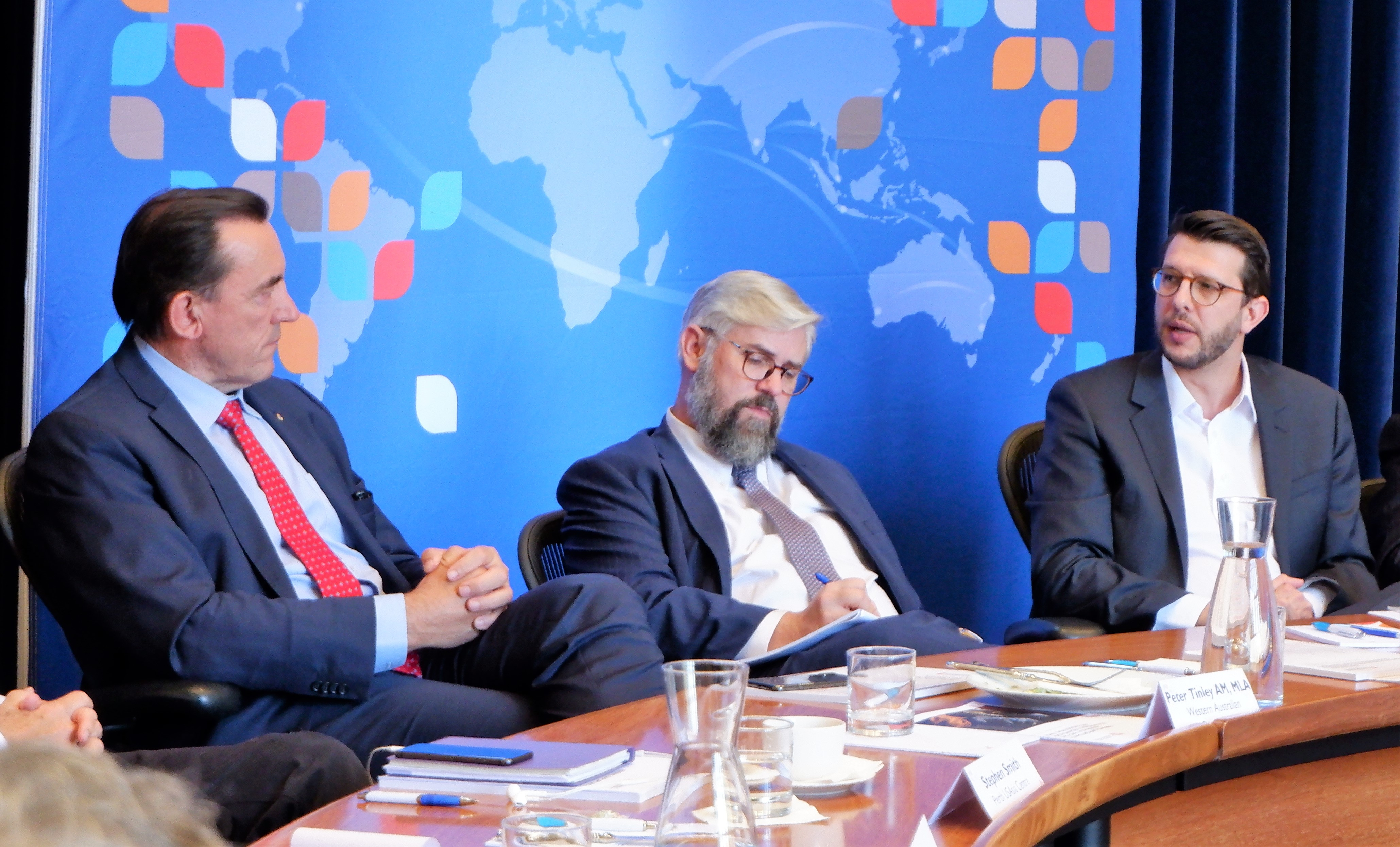 'Averting Crisis' authors lead roundtable discussion on US military and defence