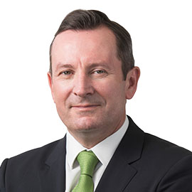 The Hon Mark McGowan MLA -