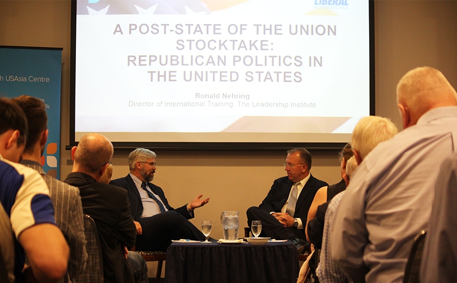 A Post-State of the Union Address and Republican Politics in the United States